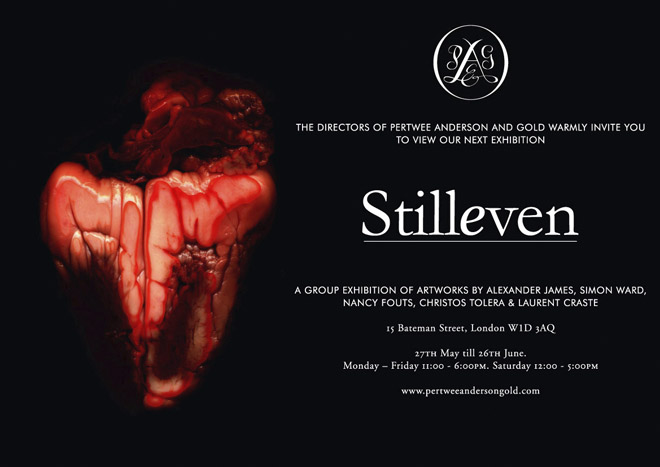 Stilleven group vanitas exhibition Pertwee Anderson and Gold Gallery with Nancy Fouts