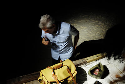 Artist in the Maldives 35 years as an Ecocide ambassador working against drinks industry waste