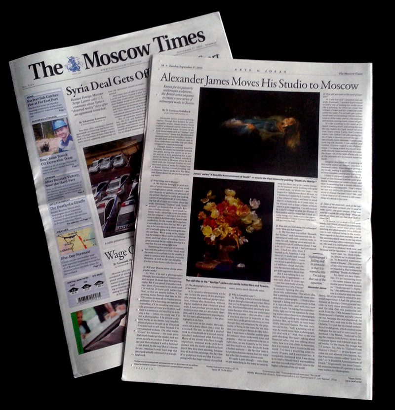 Moscow Times Arts Editor Garrison Golubock the importance of the artists studio relocation to Russia
